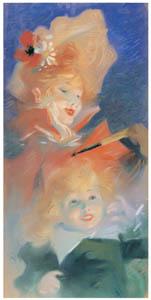 ジュール・シェレ – パリジアナ [ジュール・シェレ展より]のサムネイル画像