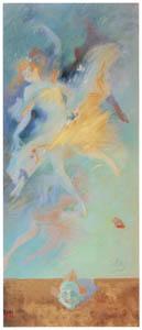 ジュール・シェレ – 左の方を向いた踊り子 [ジュール・シェレ展より]のサムネイル画像