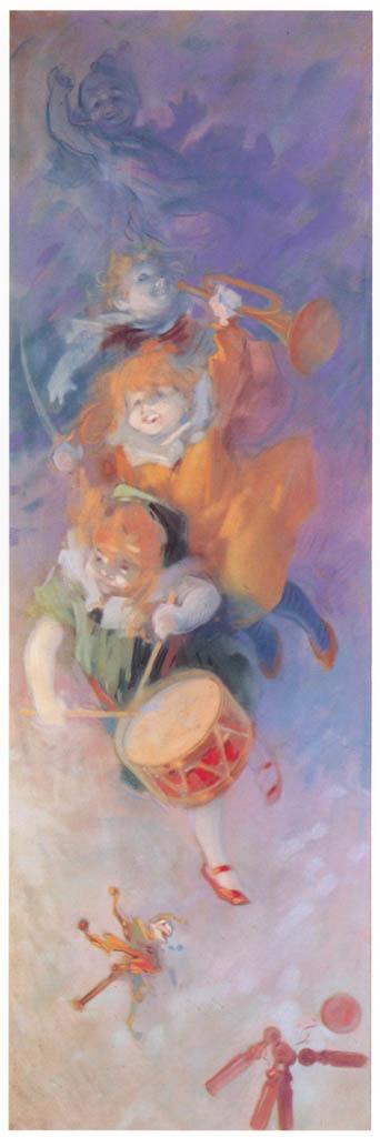 Jules Chéret – Les Jeux: Tambour et Clairon [from Jules Chéret]