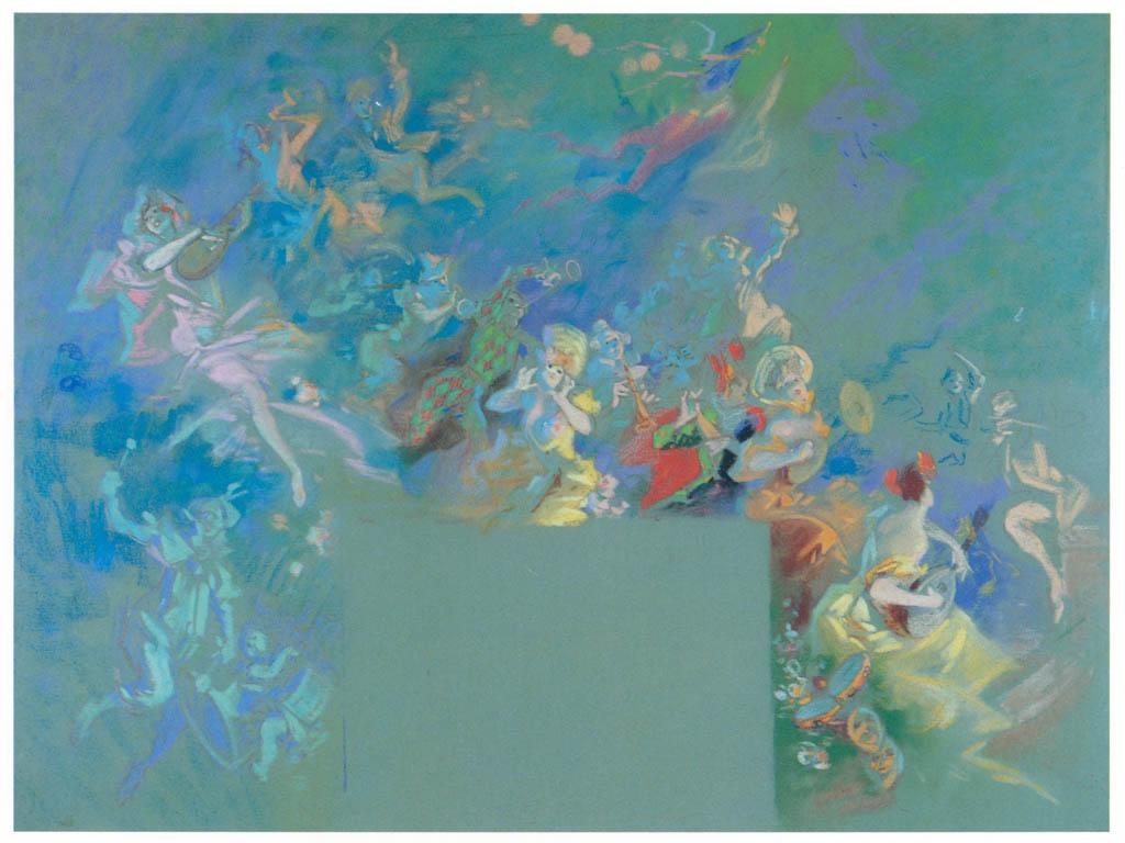 ジュール・シェレ – カーニヴァル [ジュール・シェレ展より] パブリックドメイン画像