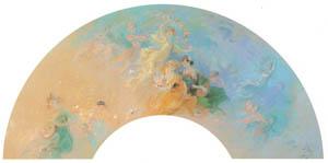 ジュール・シェレ – 扇 [ジュール・シェレ展より]のサムネイル画像