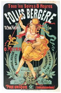 thumbnail Jules Chéret – O. Metra. Travaux de voltige, ballets, pantomimes, opérettes [from Jules Chéret]