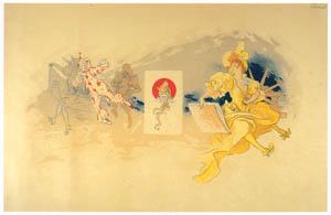 ジュール・シェレ – 第37回石版画刷り師組合懇親会 [ジュール・シェレ展より]のサムネイル画像