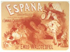 ジュール・シェレ – ワルツ集「スペイン」 [ジュール・シェレ展より]のサムネイル画像