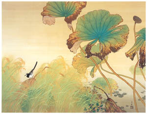 thumbnail Kawai Gyokudō – Indian Summer [from The Exhibition of Kawai Gyokudō in memory of the 50th anniversary after his death]