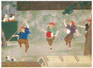 thumbnail Kawahara Keiga – Mask dance [from Catalogue of the Exhibition of Keiga Kawahara]