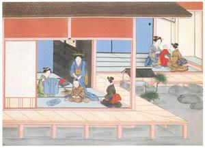 thumbnail Kawahara Keiga – Rite of growth : infancy to childhood [from Catalogue of the Exhibition of Keiga Kawahara]