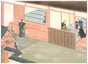 thumbnail Kawahara Keiga – Call of condolence [from Catalogue of the Exhibition of Keiga Kawahara]