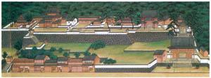 thumbnail Kawahara Keiga – Temple permises [from Catalogue of the Exhibition of Keiga Kawahara]