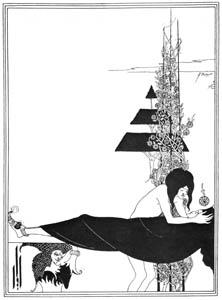 thumbnail Aubrey Beardsley – A Platonic Lament  [from Aubrey Beardsley Exhibition]