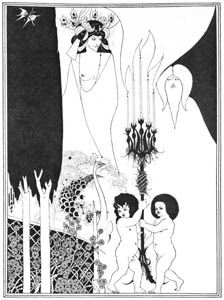 thumbnail Aubrey Beardsley – The Eyes of Herod [from Aubrey Beardsley Exhibition]