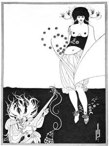 オーブリー・ビアズリー – 腹の踊り [ピアズリー展より]のサムネイル画像