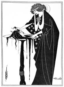 オーブリー・ビアズリー – 踊り手の褒美 [ピアズリー展より]のサムネイル画像
