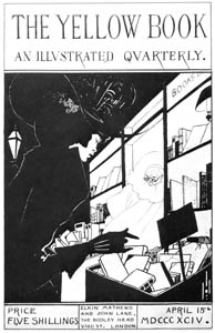 thumbnail Aubrey Beardsley – Design for the front cover of the prospectus of Vol. I, April, 1894.  [from Aubrey Beardsley Exhibition]