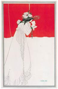 オーブリー・ビアズリー – イゾルデ [ピアズリー展より]のサムネイル画像