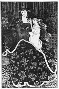 オーブリー・ビアズリー – 大判のクリスマス・カード [ピアズリー展より]のサムネイル画像