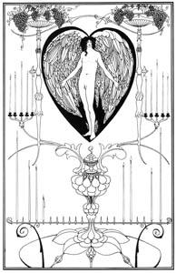 オーブリー・ビアズリー – 愛の鏡 [ピアズリー展より]のサムネイル画像