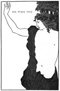 オーブリー・ビアズリー – いざ、さらば [ピアズリー展より]のサムネイル画像