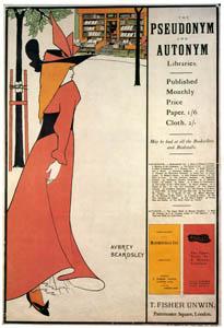 オーブリー・ビアズリー – 筆名・本名叢書 [ピアズリー展より]のサムネイル画像