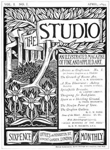 オーブリー・ビアズリー – 『スチューディオ』のためのポスター [ピアズリー展より]のサムネイル画像