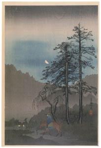 thumbnail Takahashi Shōtei – Ome Highway [from Shotei (Hiroaki) Takahashi: His Life and Works]