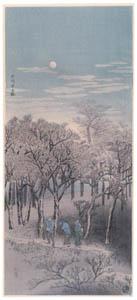高橋松亭 – 石神井之林 [こころにしみるなつかしい日本の風景 近代の浮世絵師・高橋松亭の世界より]のサムネイル画像