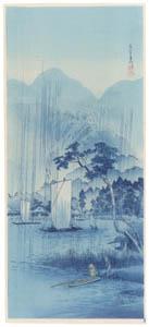 thumbnail Takahashi Shōtei – The River Abukuma [from Shotei (Hiroaki) Takahashi: His Life and Works]
