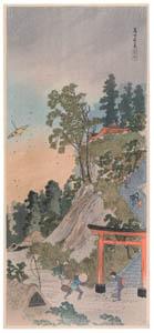 thumbnail Takahashi Shōtei – Fuji-no-mori Forest, Ochiai [from Shotei (Hiroaki) Takahashi: His Life and Works]