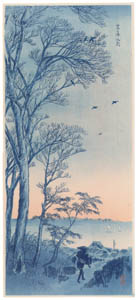 thumbnail Takahashi Shōtei – Kasumigaura Creek in the Morning [from Shotei (Hiroaki) Takahashi: His Life and Works]