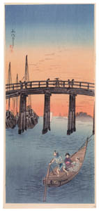 thumbnail Takahashi Shōtei – Eitai Bridge [from Shotei (Hiroaki) Takahashi: His Life and Works]