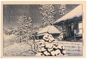 高橋松亭 – 都南八景の内 市の倉 [こころにしみるなつかしい日本の風景 近代の浮世絵師・高橋松亭の世界より]のサムネイル画像