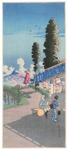 高橋松亭 – 奈か泉 [こころにしみるなつかしい日本の風景 近代の浮世絵師・高橋松亭の世界より]のサムネイル画像