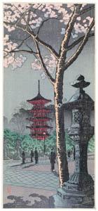 thumbnail Takahashi Shōtei – Tōshōgū  Temple, Ueno [from Shotei (Hiroaki) Takahashi: His Life and Works]