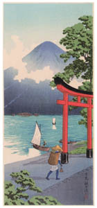 thumbnail Takahashi Shōtei – Utagahama, Nikkō [from Shotei (Hiroaki) Takahashi: His Life and Works]