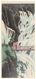 thumbnail Takahashi Shōtei – Shirakumo Waterfall, Nikkō [from Shotei (Hiroaki) Takahashi: His Life and Works]