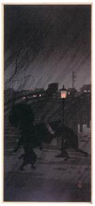 thumbnail Takahashi Shōtei – Shower [from Shotei (Hiroaki) Takahashi: His Life and Works]