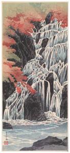 thumbnail Takahashi Shōtei – Tamadare Waterfall [from Shotei (Hiroaki) Takahashi: His Life and Works]