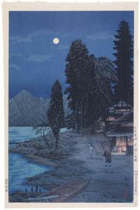 高橋松亭 – 日光名所 中禅寺湖畔 [こころにしみるなつかしい日本の風景 近代の浮世絵師・高橋松亭の世界より]のサムネイル画像