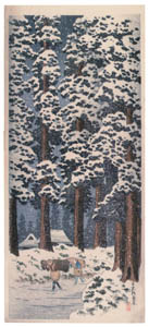 thumbnail Takahashi Shōtei – The Japanese Cedar Avenue in Nikko [from Shotei (Hiroaki) Takahashi: His Life and Works]