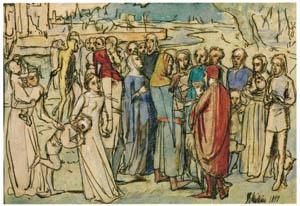 ジョン・エヴァレット・ミレイ – 民を数える男爵 [ジョン・エヴァレット・ミレイ展より]のサムネイル画像