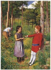 ジョン・エヴァレット・ミレイ – 木こりの娘 [ジョン・エヴァレット・ミレイ展より]のサムネイル画像