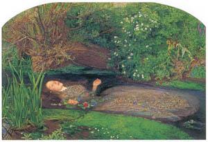 ジョン・エヴァレット・ミレイ – オフィーリア [ジョン・エヴァレット・ミレイ展より]のサムネイル画像