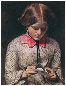 ジョン・エヴァレット・ミレイ – スミレの伝言 [ジョン・エヴァレット・ミレイ展より]のサムネイル画像
