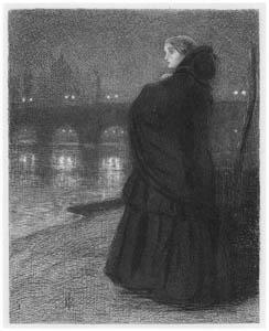 ジョン・エヴァレット・ミレイ – ため息の橋 [ジョン・エヴァレット・ミレイ展より]のサムネイル画像