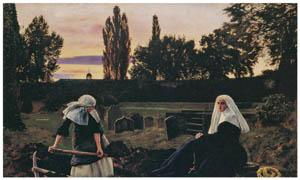 ジョン・エヴァレット・ミレイ – 安息の谷間「疲れし者の安らぎの場」 [ジョン・エヴァレット・ミレイ展より]のサムネイル画像
