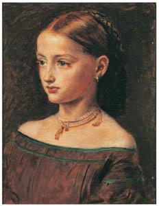 thumbnail John Everett Millais – Portrait of Alice Gray [from John Everett Millais Exhibition Catalogue 2008]