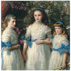 thumbnail John Everett Millais – Sisters [from John Everett Millais Exhibition Catalogue 2008]