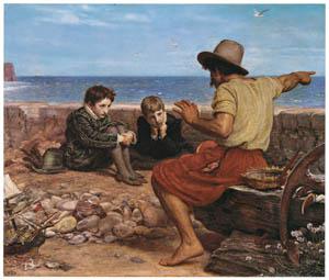 ジョン・エヴァレット・ミレイ – ローリーの少年時代 [ジョン・エヴァレット・ミレイ展より]のサムネイル画像