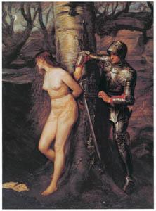 thumbnail John Everett Millais – The Knight Errant [from John Everett Millais Exhibition Catalogue 2008]