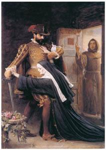 ジョン・エヴァレット・ミレイ – どうかご慈悲を! 1572年のサン・バルテルミの虐殺 [ジョン・エヴァレット・ミレイ展より]のサムネイル画像